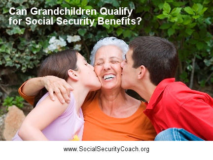 grandchildren and social security