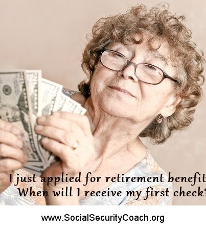 first social security check